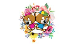 Plyšáci ke květinám