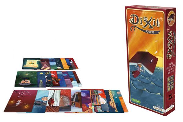 Hra Dixit 2 Quest - rozšíření