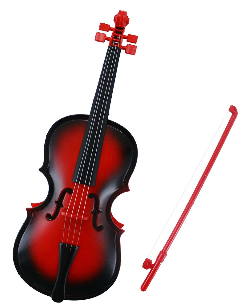 housle/violoncello na baterie s melodií
