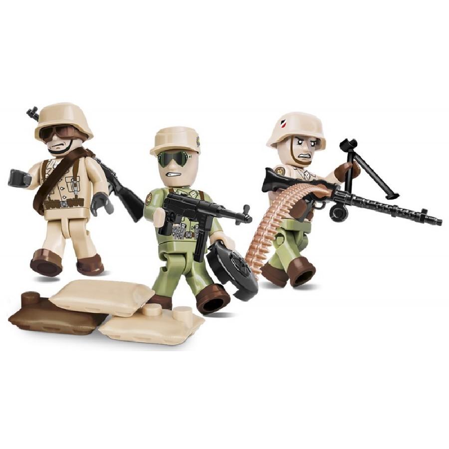 Figurky s doplňky Afrika Korps, 26 k