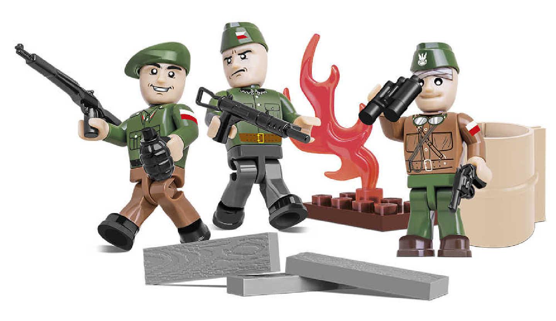 Figurky s doplňky Varšavské povstání, 26 k