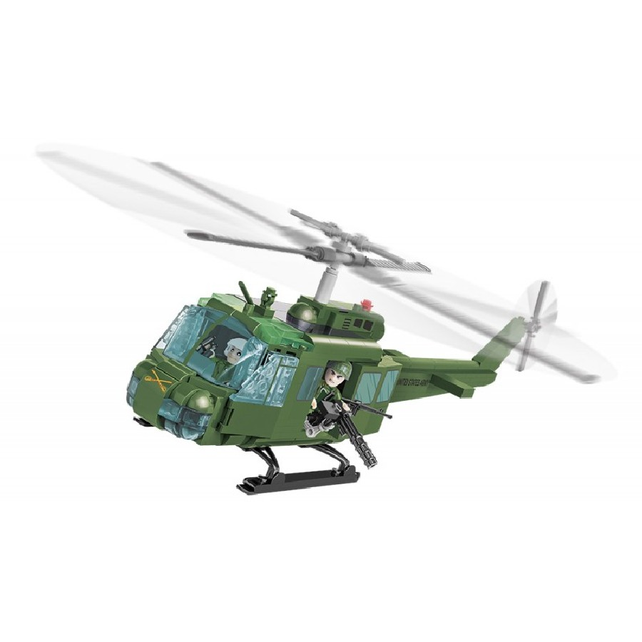 Stavebnice vrtulník Small Army Air Cavalry UH, 410 k, 2 f
