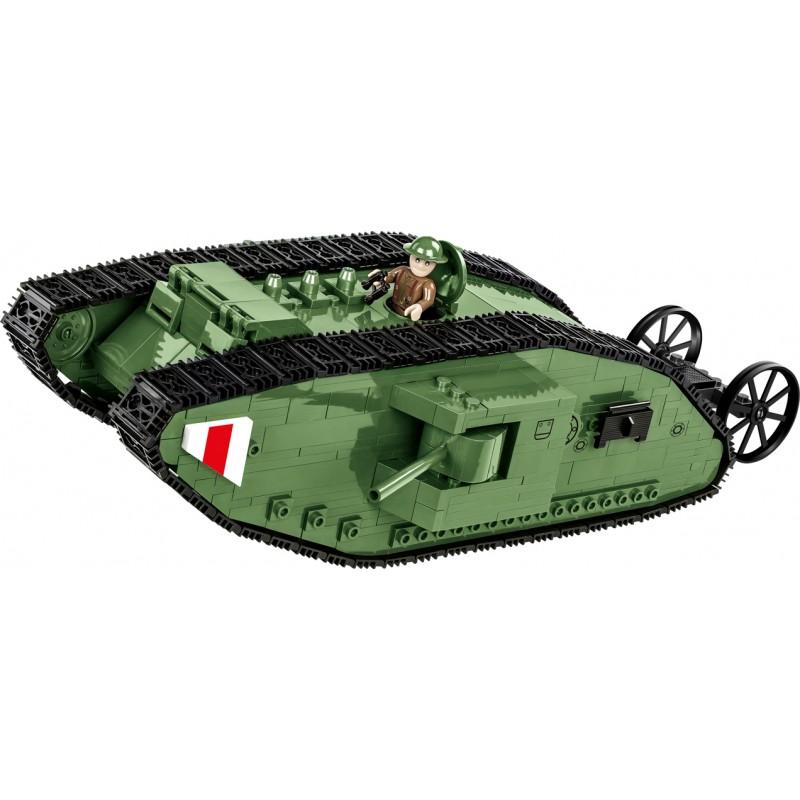 stavebnice Great War Tank Mark I 600 k 1 f