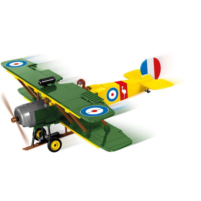 Stavebnice Great War AVRO 504 D7600, 230 k, 2 f