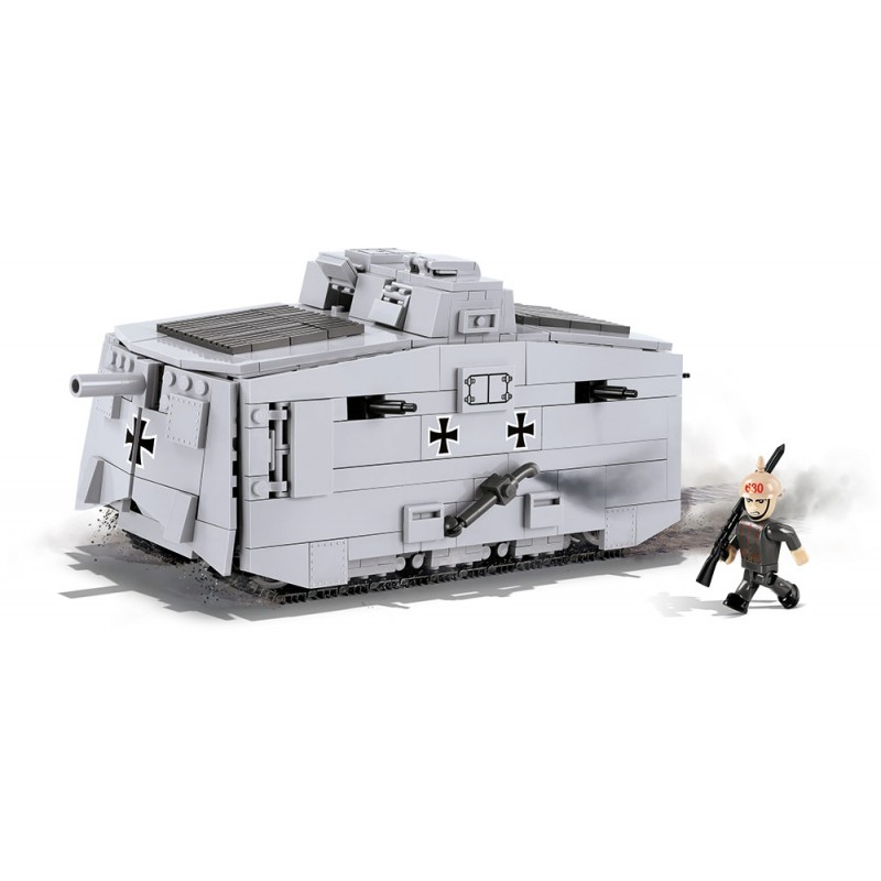 stavebnice Great War Sturmpanzerwagen A7V 575 k 1 f