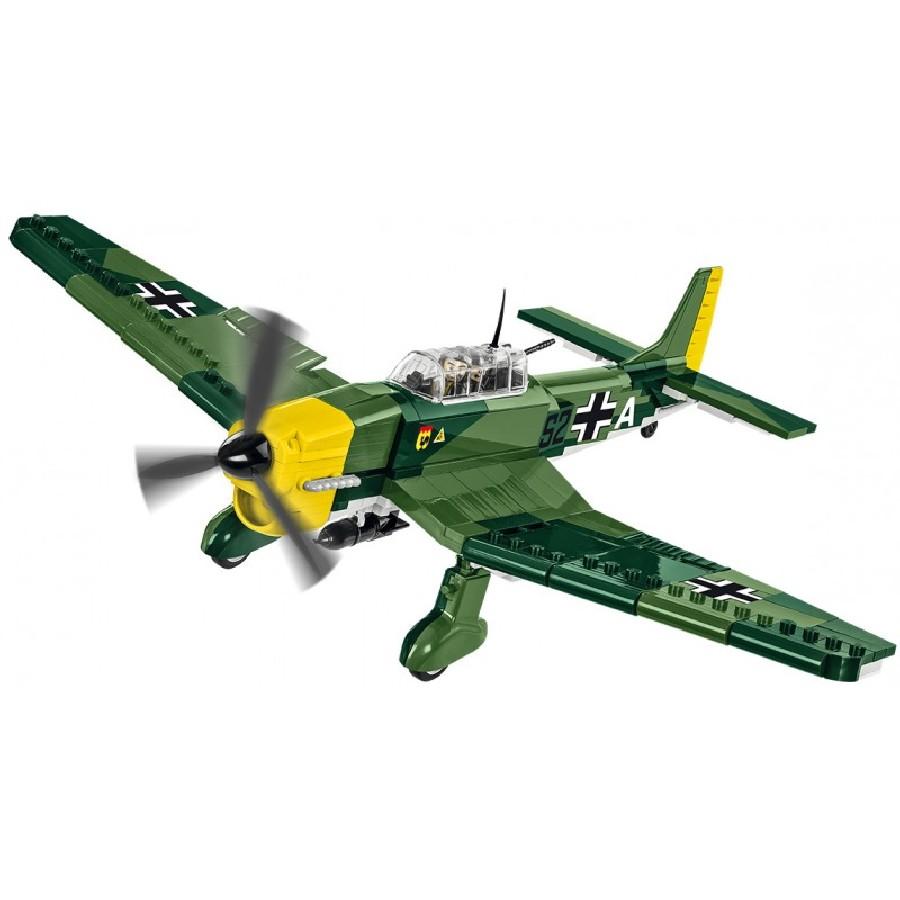 Stavebnice II WW Junkers Ju 87 B-2 Stuka, 370 k, 2 f