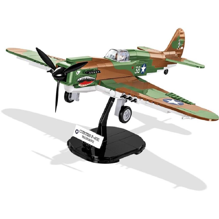 Stavebnice II WW Curtiss P-40E Warhawk, 1:35, 272 k, 1 f