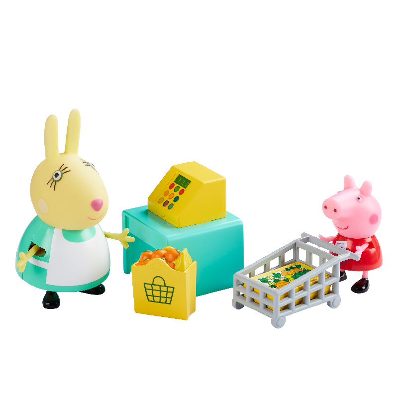 Obchod + 2 figurky  Prasátko Peppa