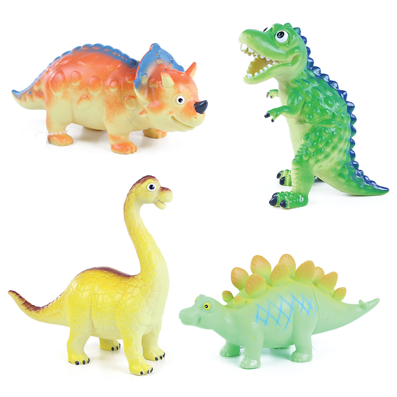 Dinosauři veselí 4 druhy  17 - 18 cm