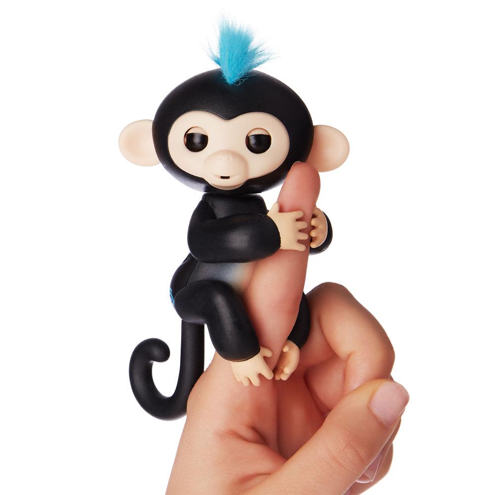 Fingerlings - Opička Finn černá