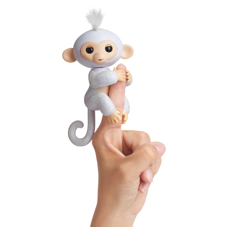 Fingerlings - Opička třpytivá Sugar bílá
