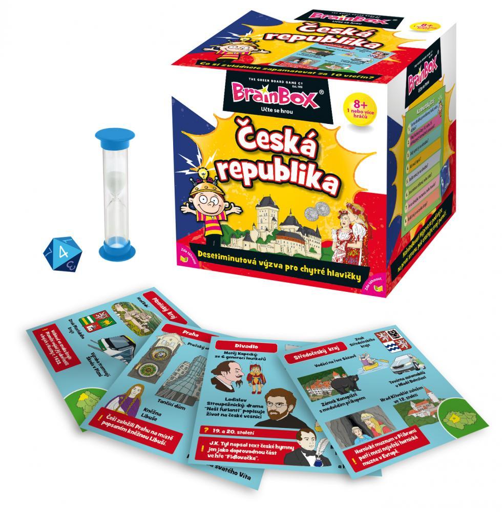 Hra Brainbox - Česká republika