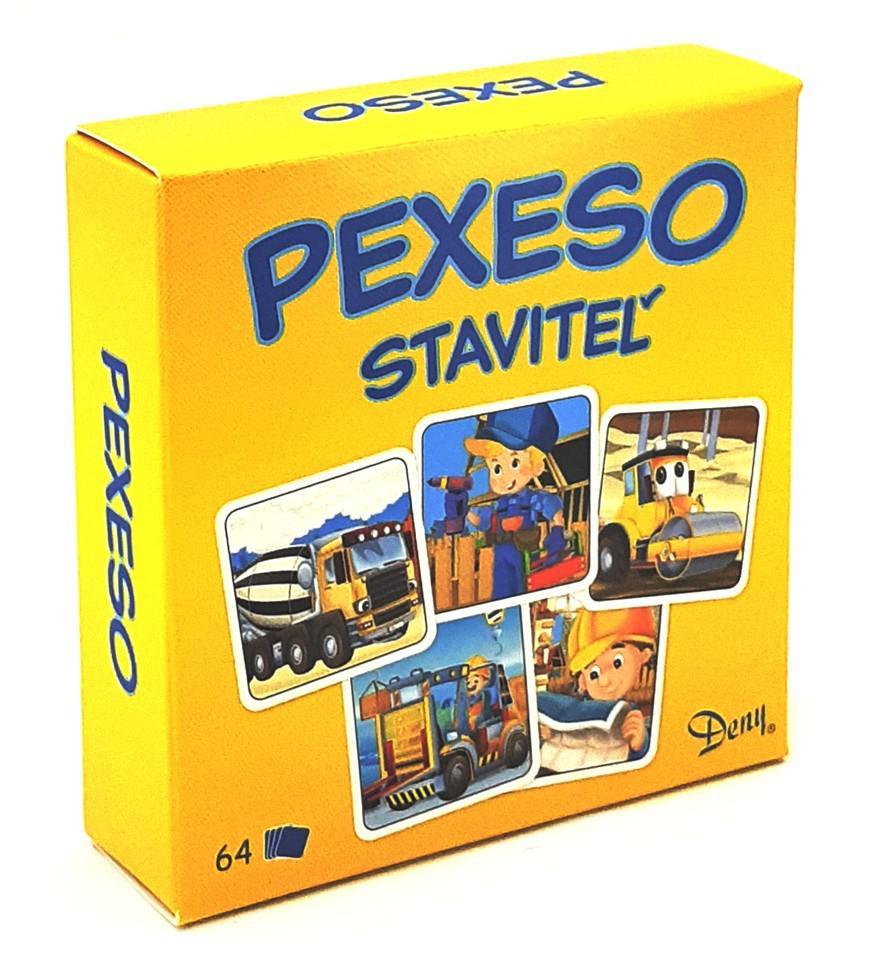 Pexeso Stavitel v krabičce