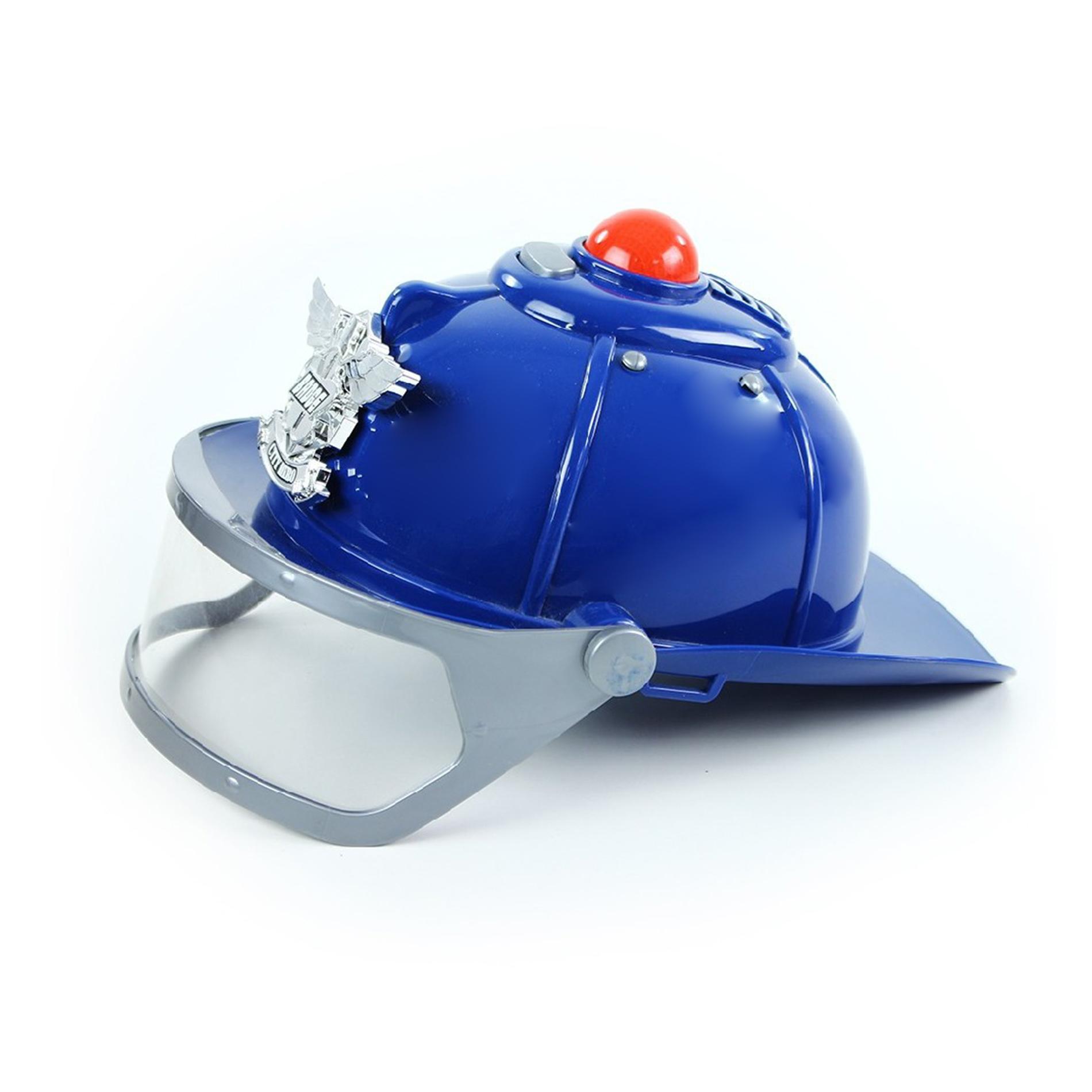 helma policie se zvukem a světlem