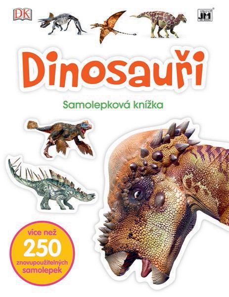 knížka samolepková Dinosauři