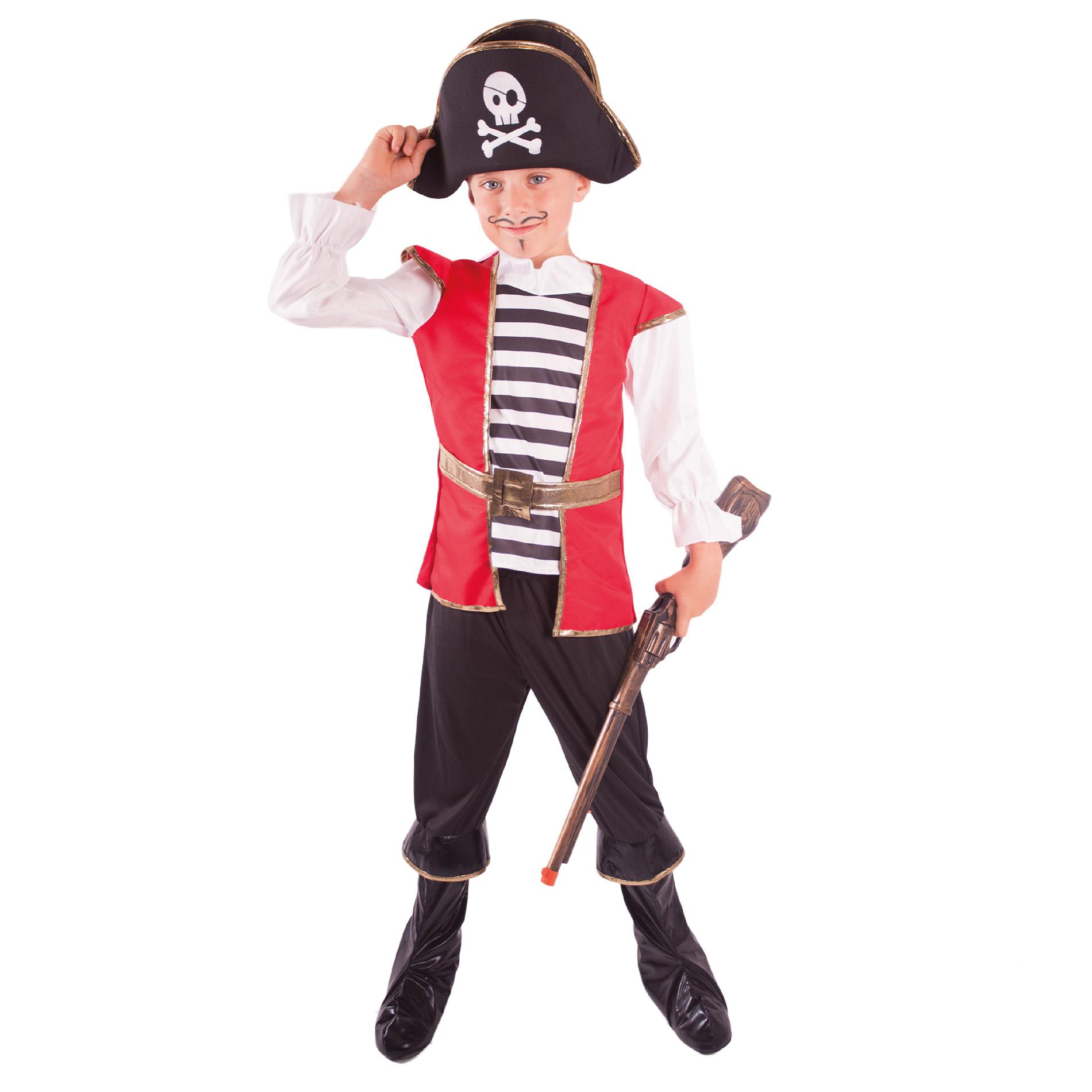 Dětský kostým pirát s kloboukem (M)