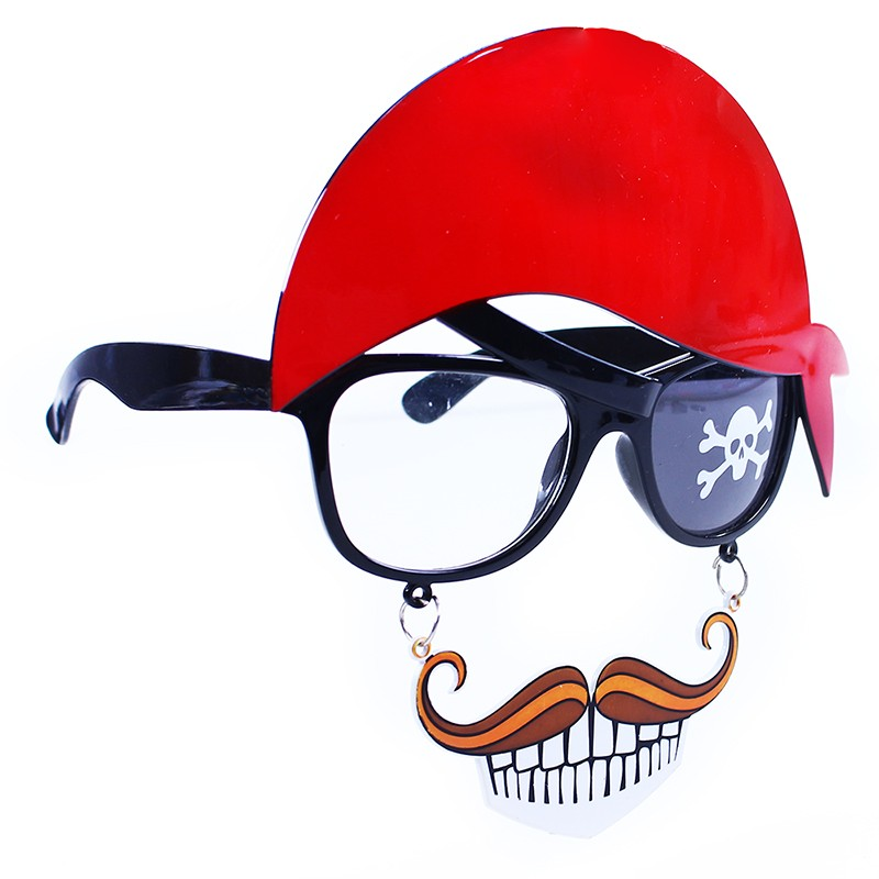 brýle pirátské s vousy