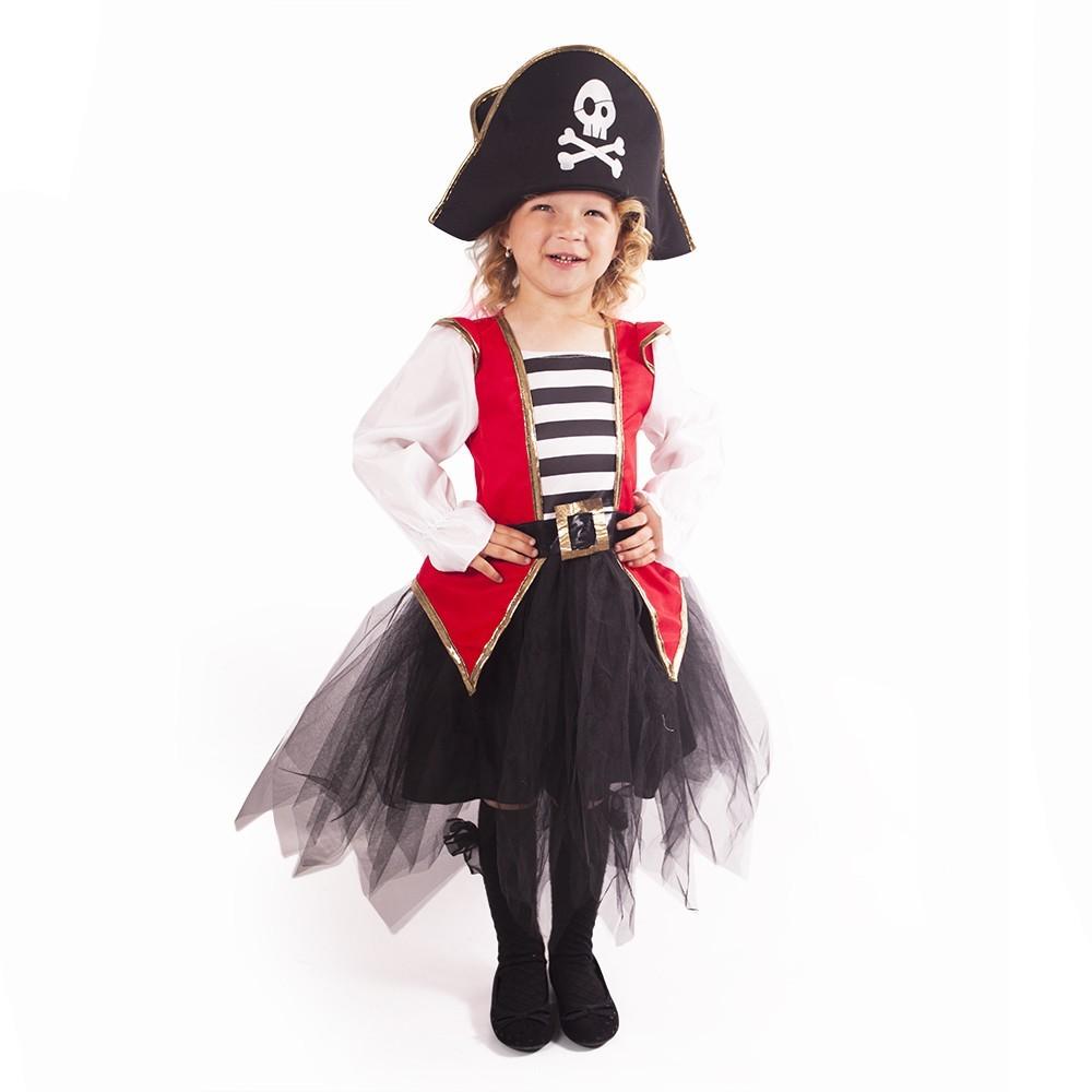 Dětský kostým pirátka (L)