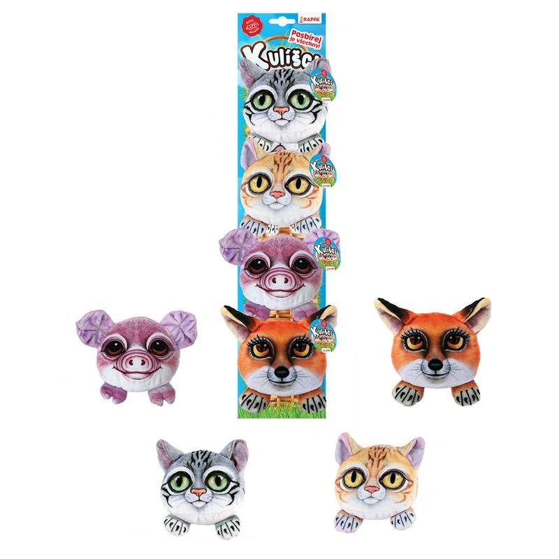 Kulíšci - plyšové kočky a zvířata 9 cm