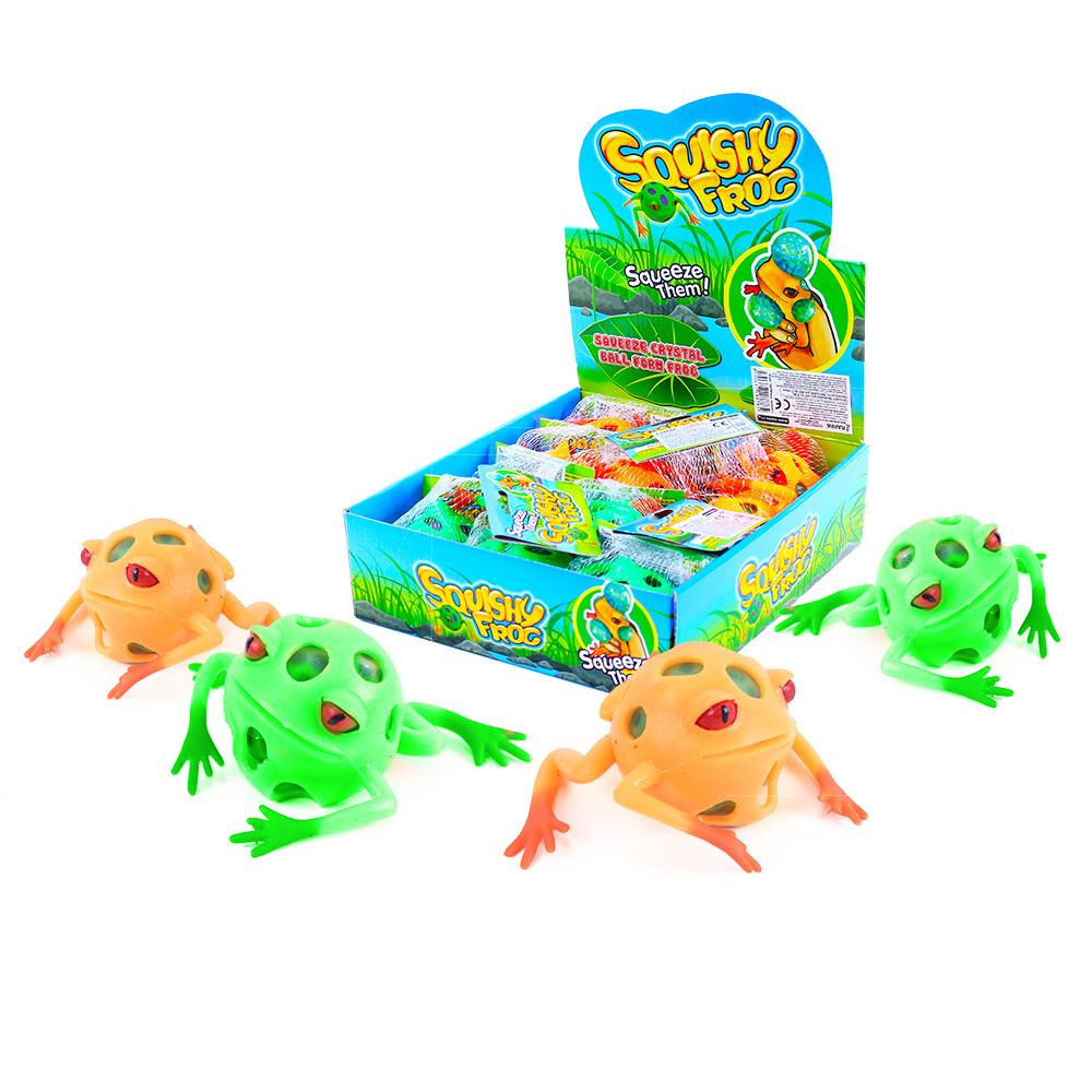 Žába míček s kuličkami
