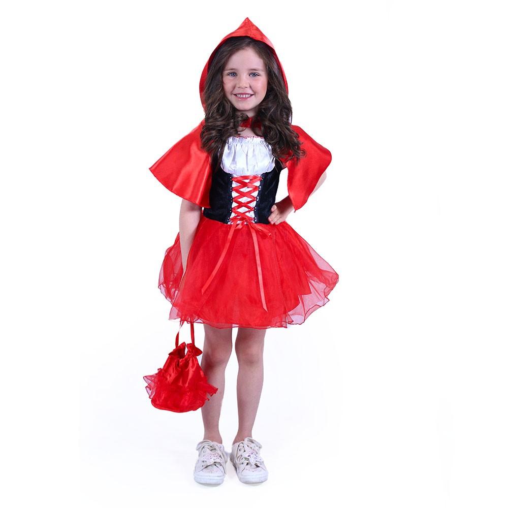 Dětský kostým Karkulka (S)