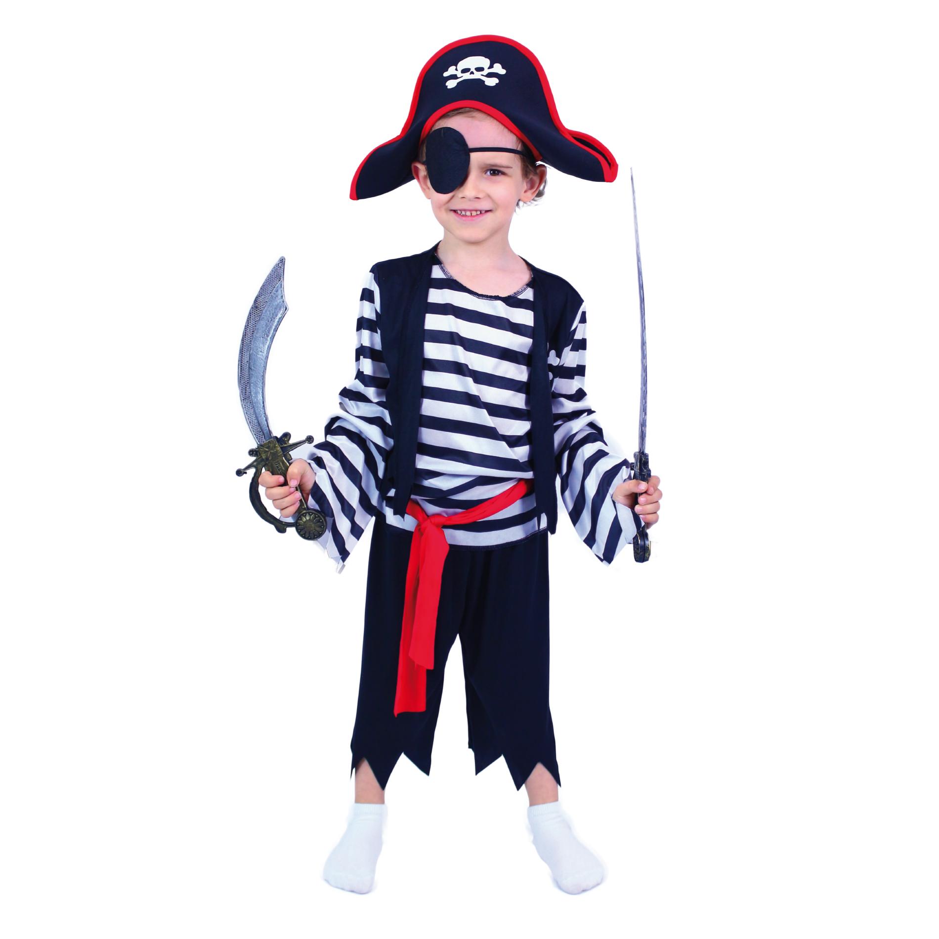 Dětský kostým pirát (M)