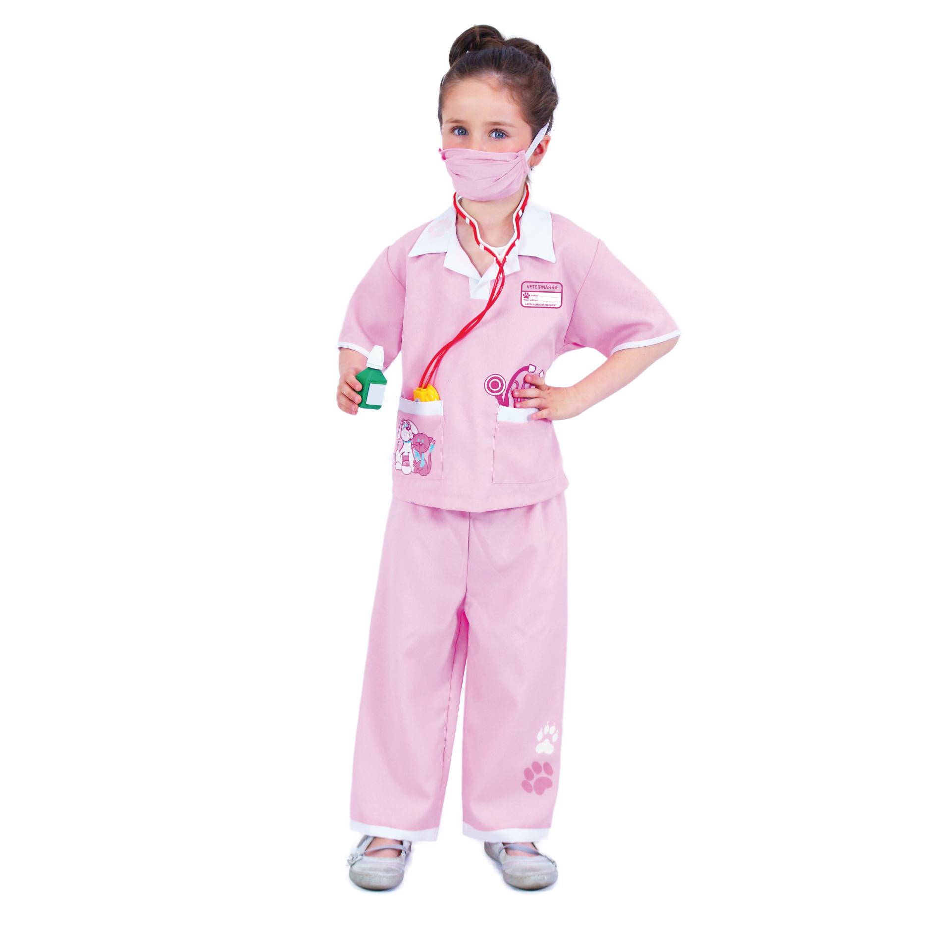 Dětský kostým veterinářka (M)