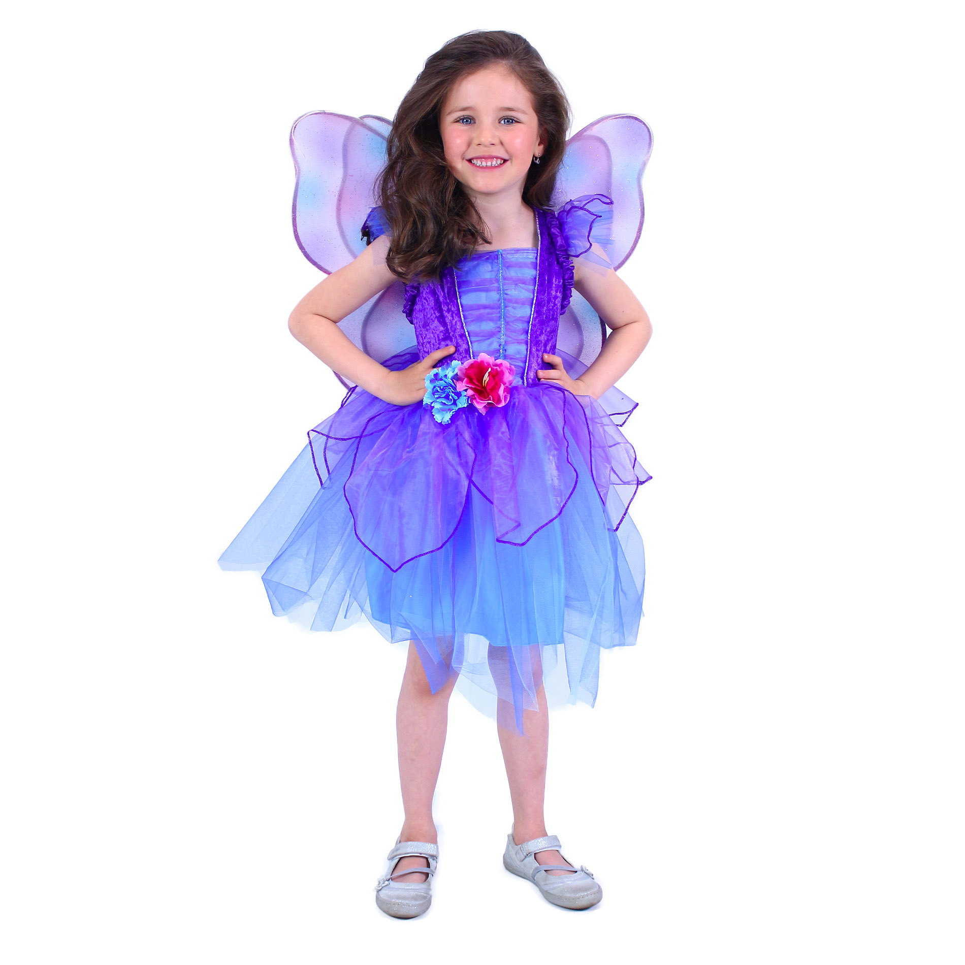 Dětský kostým fialová víla (M)