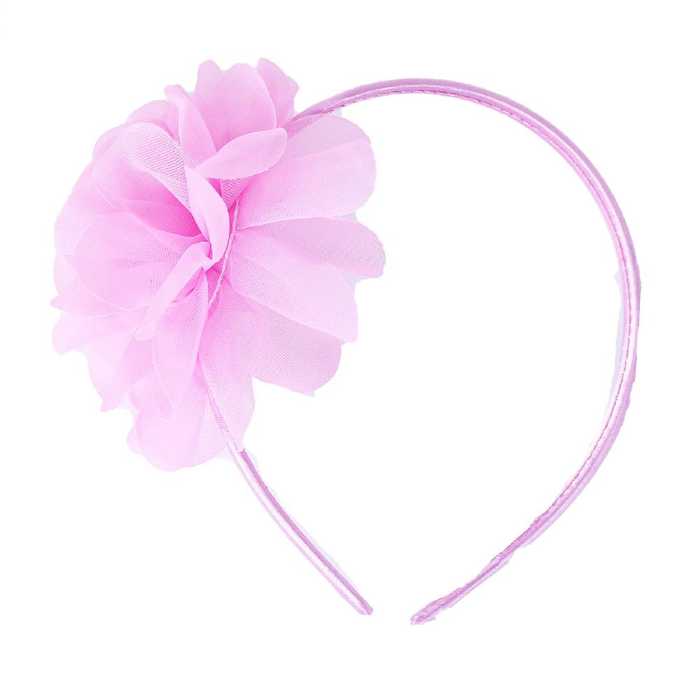 Čelenka květina růžová