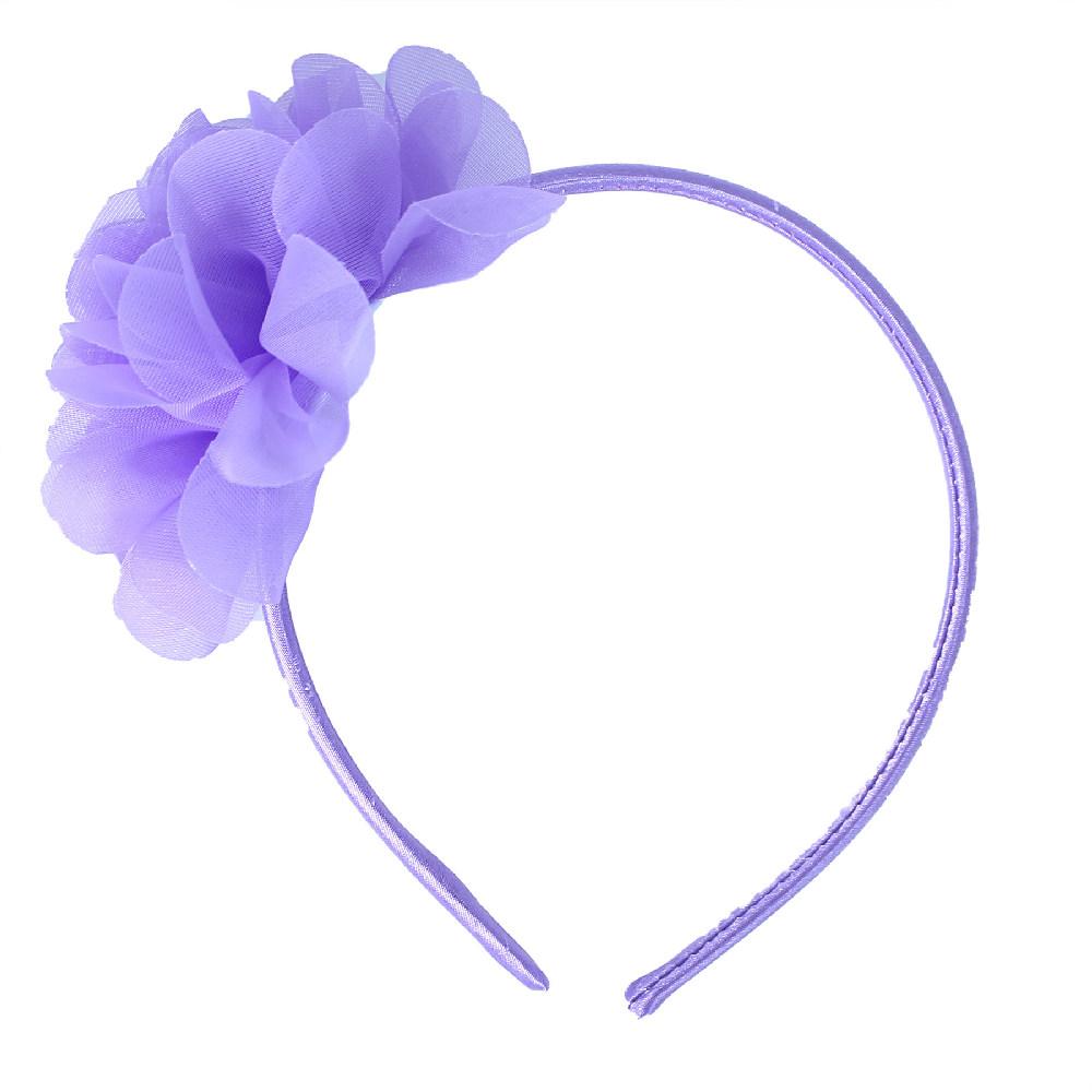 Čelenka květina fialová