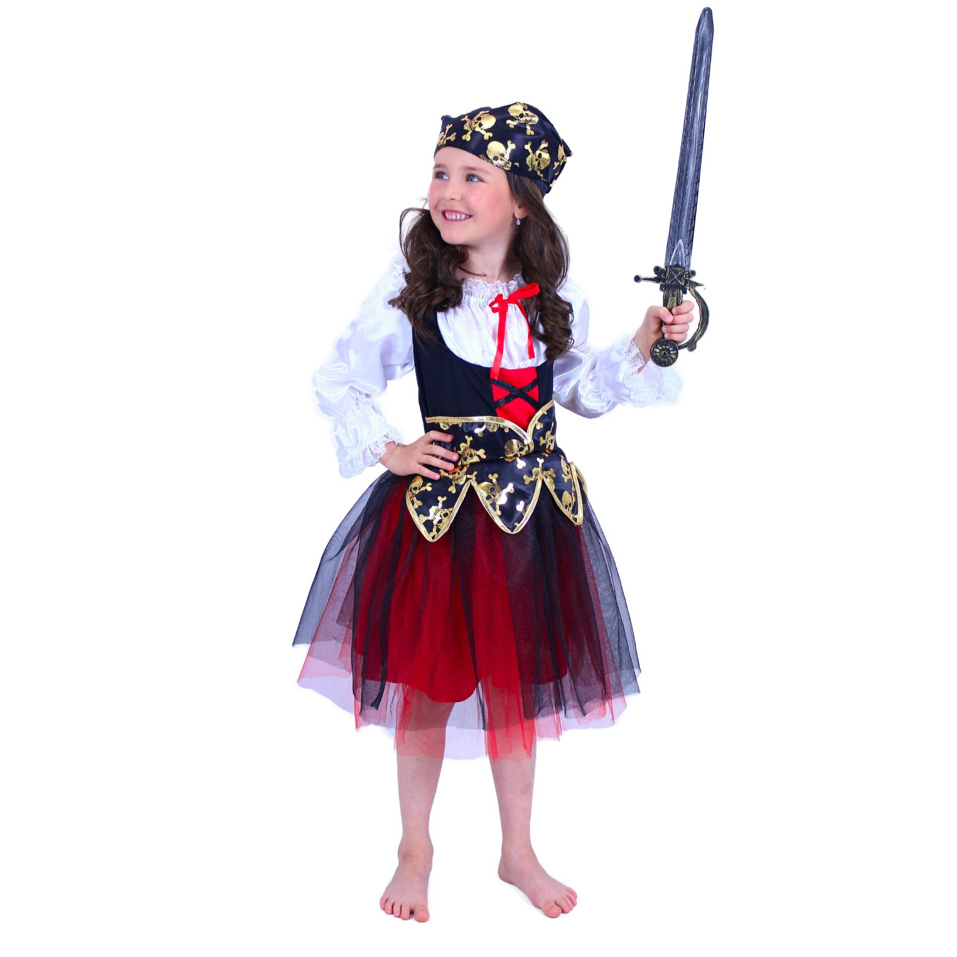 Dětský kostým pirátka (S) e-obal