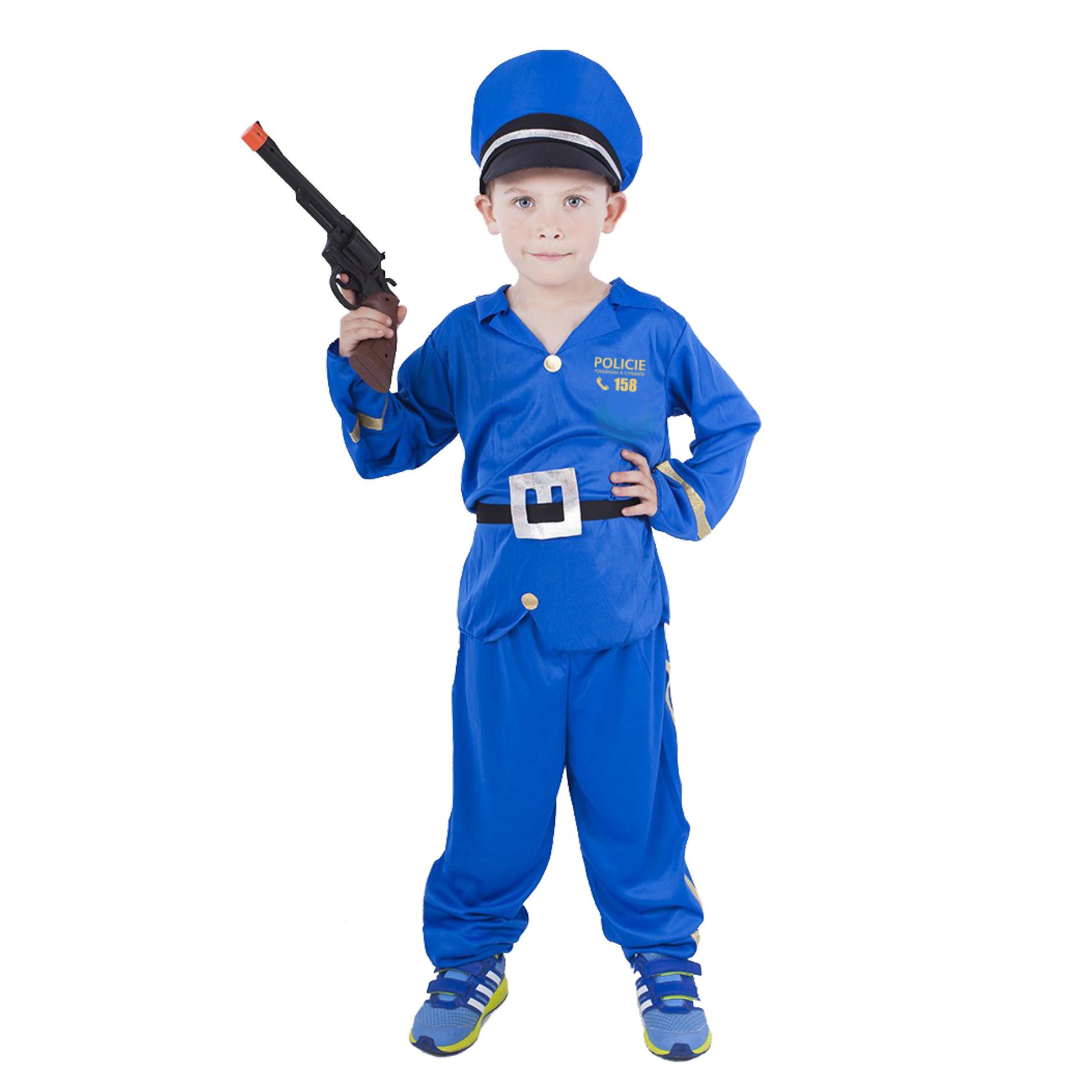 Dětský kostým policista (S) e-obal