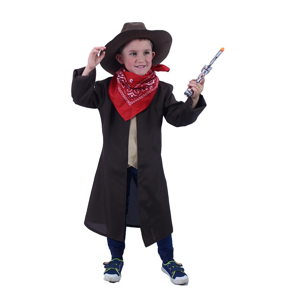 Dětský kostým kovboj (M)