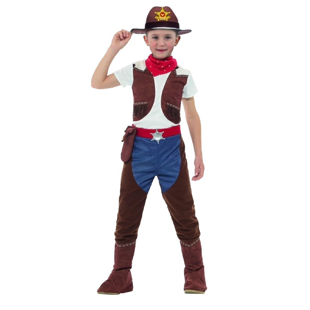 Dětský kostým kovboj (S)