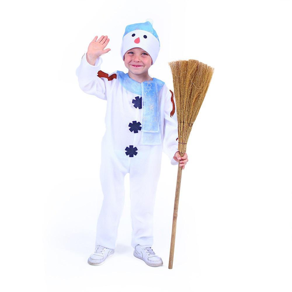 Dětský kostým sněhulák s čepicí (S) e-obal