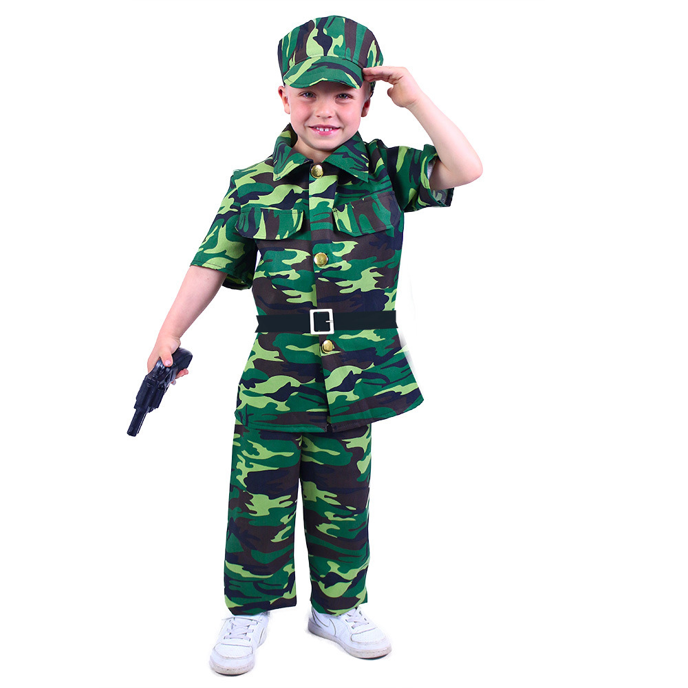 Dětský kostým voják (M) e-obal