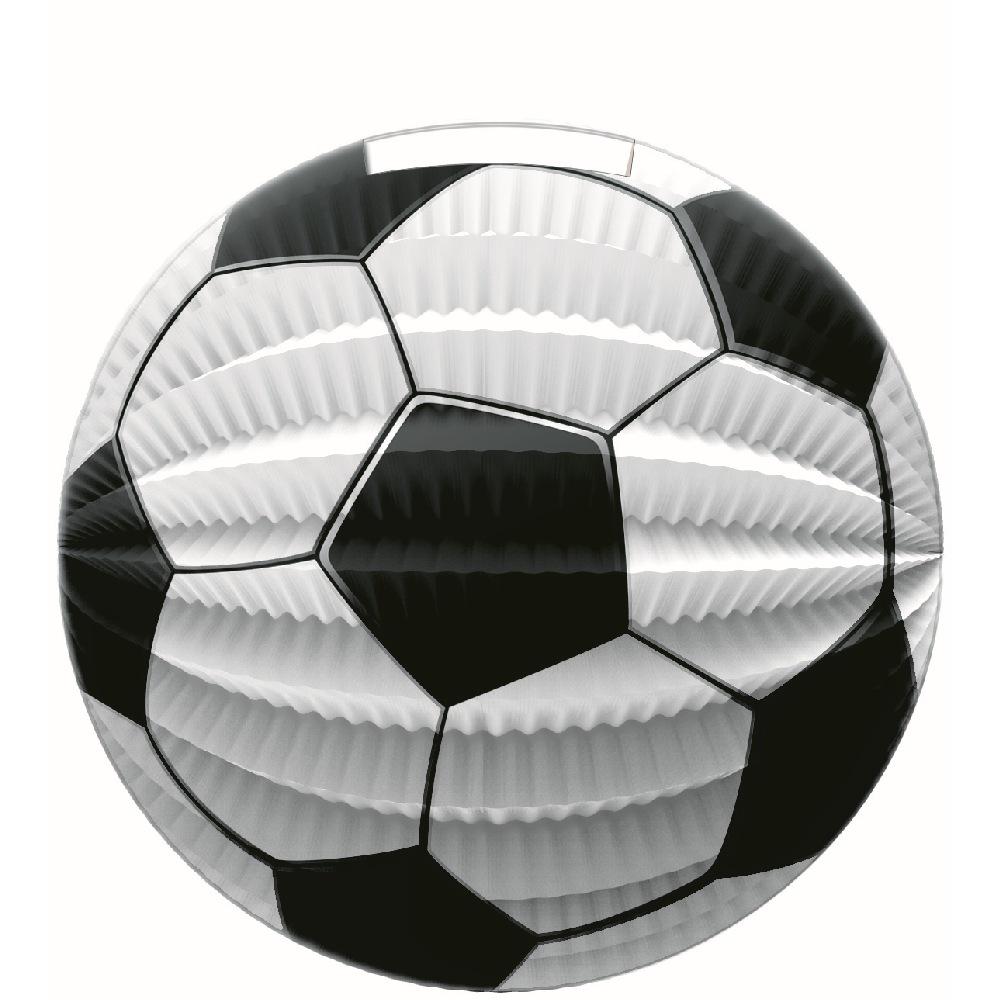 Lampion papírový fotbalový míč 25 cm