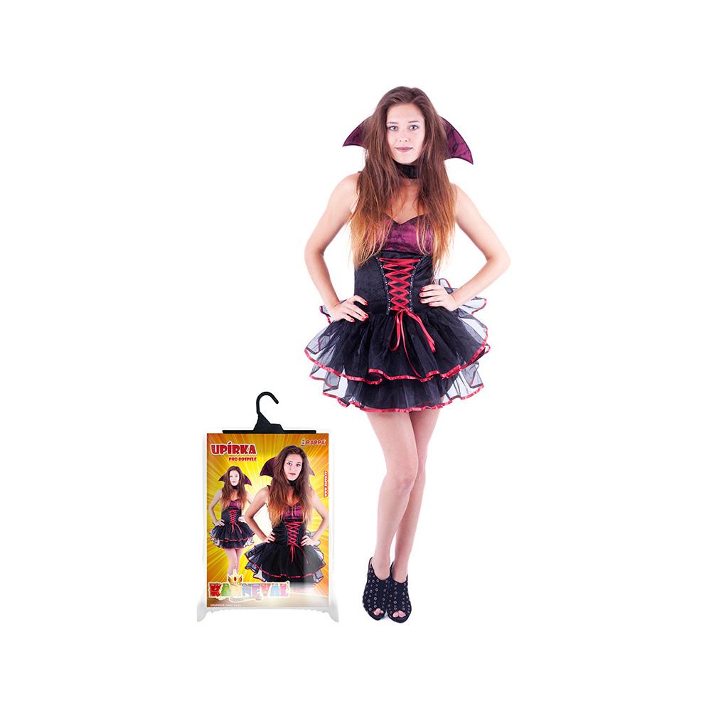 Kostým pro dospělé sexy upírka/Halloween (M)