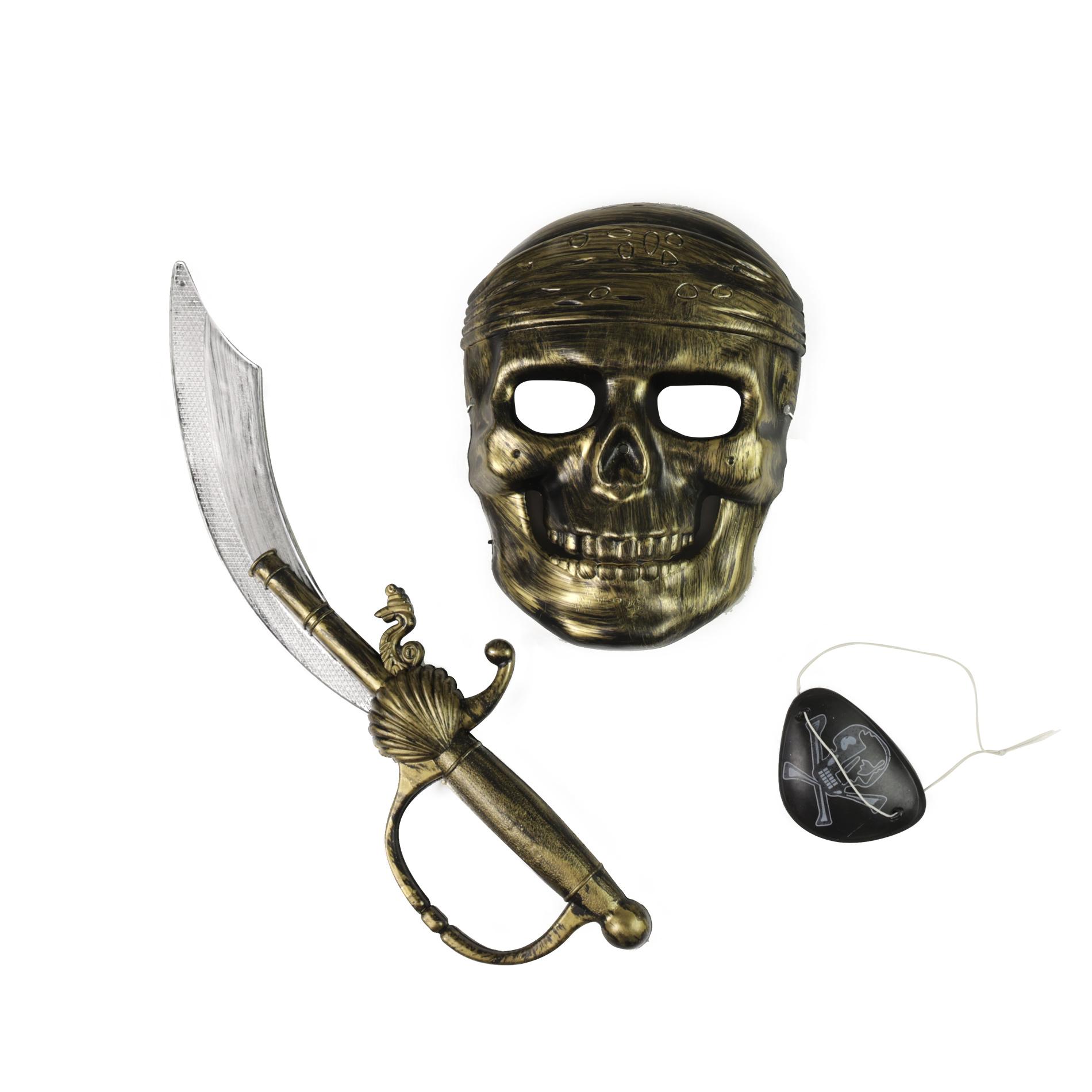 Pirátská sada s maskou
