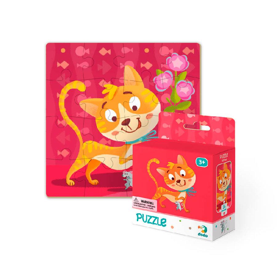 Puzzle Kočka 16 dílků