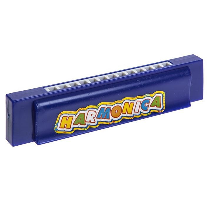 Foukací harmonika 13 cm 3 barvy