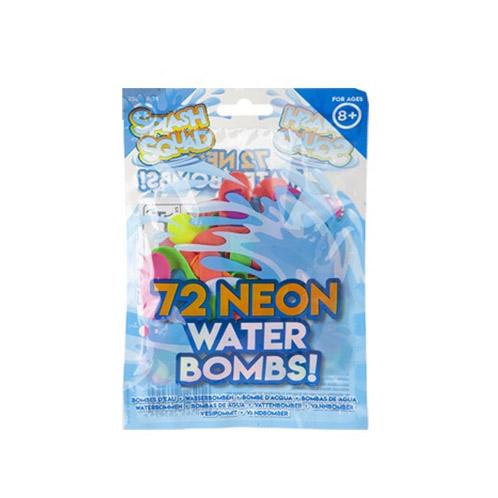 Neonové vodní bomby 72 kusů