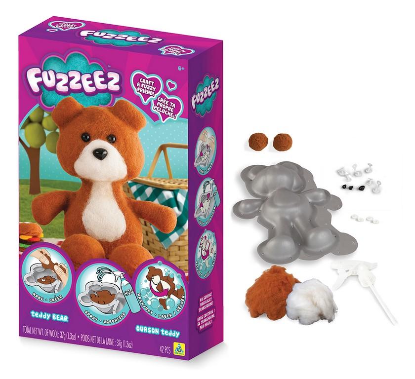 Výroba medvěda Fuzzeez