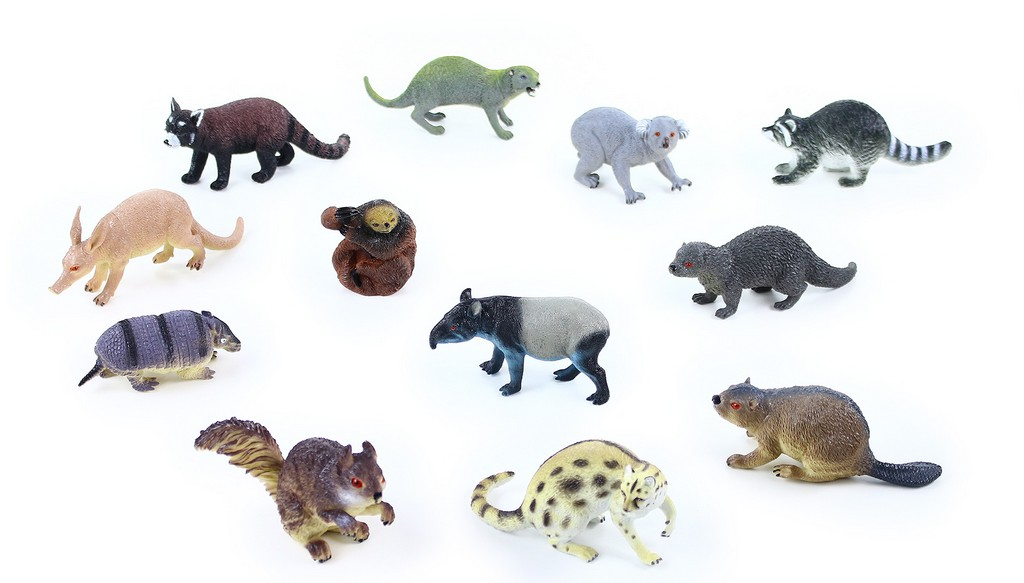 Zvířata lesní 11 - 18 cm