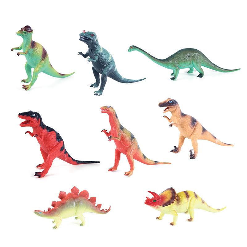 Dinosaurus se zvukem 8 druhů 21 - 29 cm