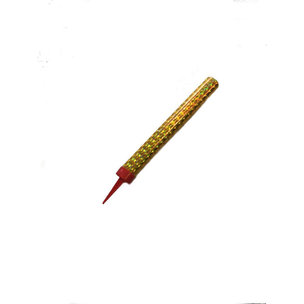 Fontána párty zlatá 40 sek 12 cm