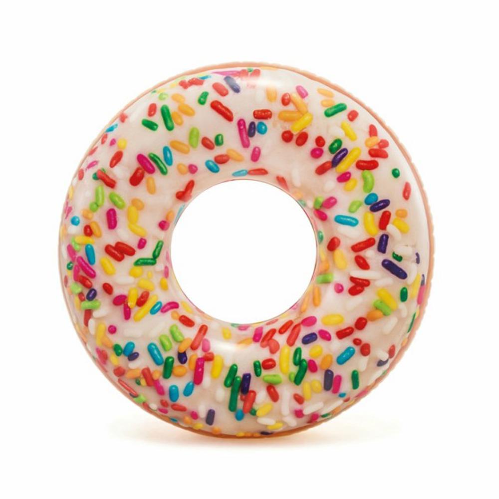 Nafukovací kruh donut s posypem 99 cm