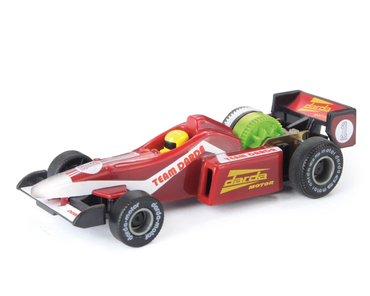 Autíčko Darda - Formule závodní červená