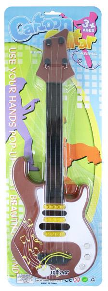 Kytara barevná, 44,5 cm, 3 druhy