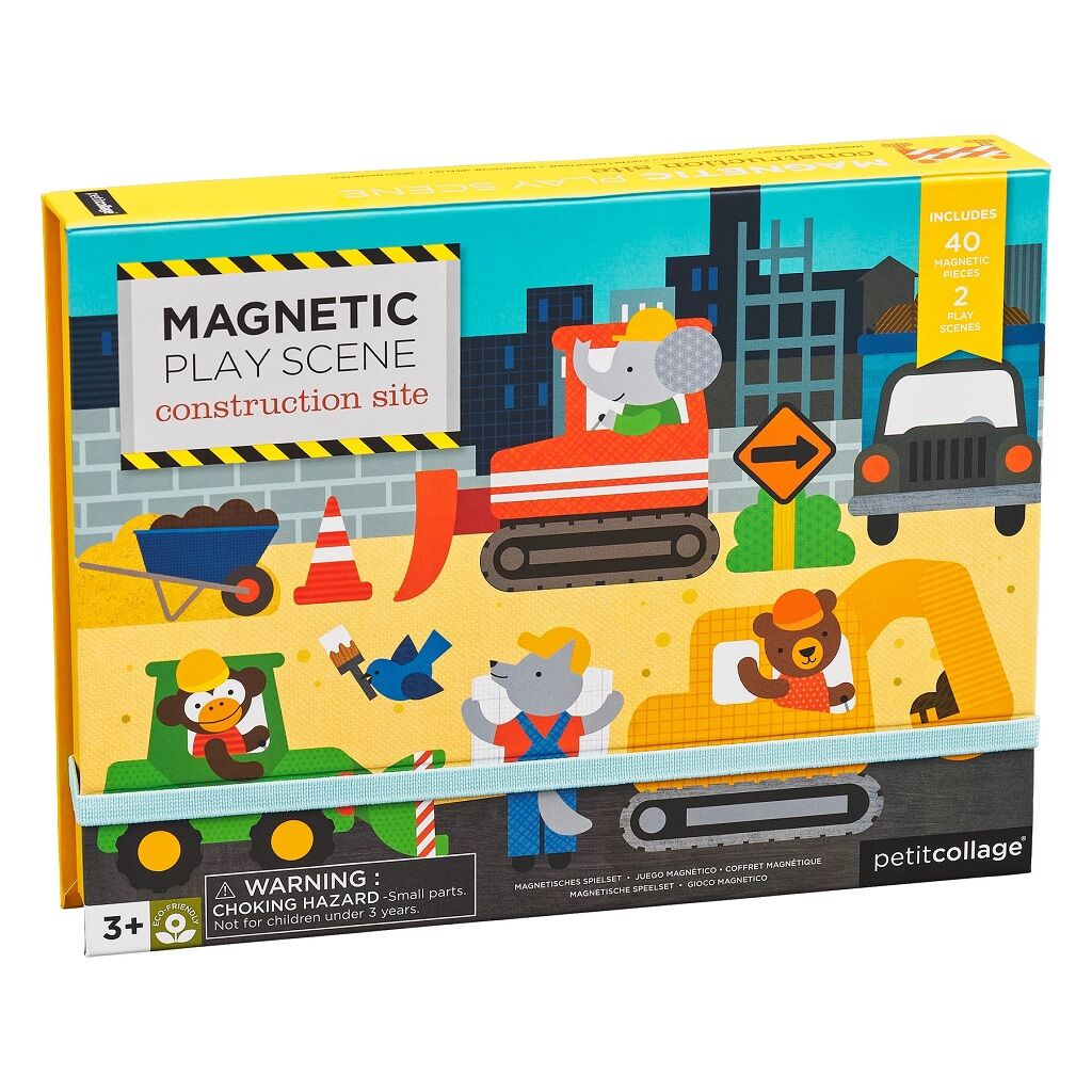 Petitcollage Magnetická tabulka stavba